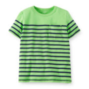 Carter's® Striped Pocket Tee – Toddler Boys 2t-5t