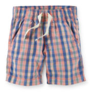 Carter's® Plaid Shorts − Toddler Boys 2t-5t