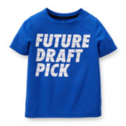 Carter's® Blue Draft Active Tee - Toddler Boys 2t-5t