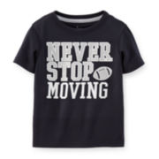 Carter's® Football Active Tee -- Toddler Boys 2t-5t