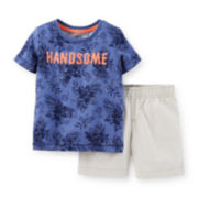 Carter's® Tee and Shorts Set - Toddler Boys 2t-5t