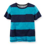 Carter's® Striped Pocket Tee − Preschool Boys 4-7