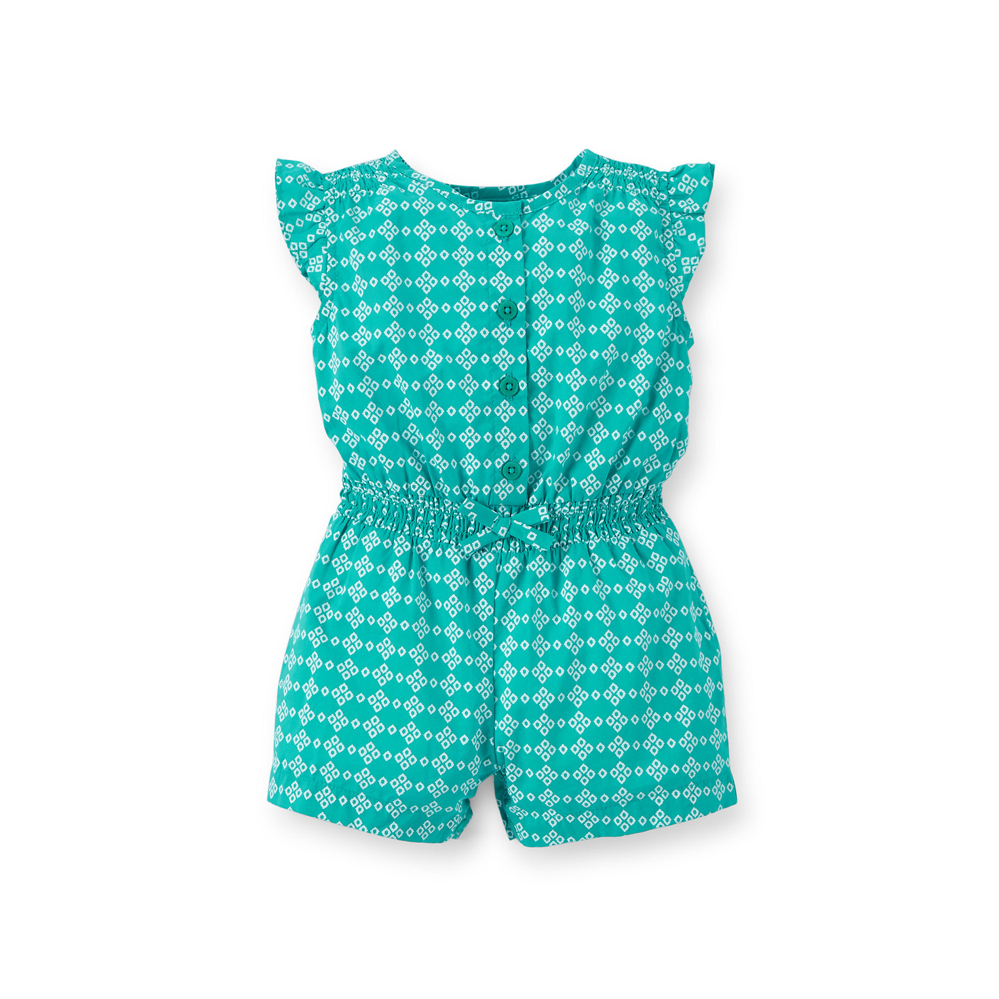 242adef70cd UPC 888510422051 product image for Carters Print Cotton Romper - Baby Girls  newborn-24m ...