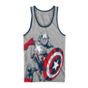 Captain America Graphic Tank Top - Boys 8-20