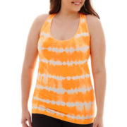 City Streets® Seamless Racerback Tank Top - Juniors Plus