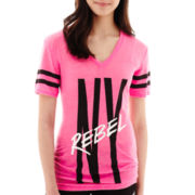 City Streets® Short-Sleeve Graphic Tunic T-Shirt