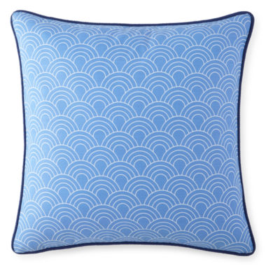 "jcpenney.com | Happy Chic by Jonathan Adler Zoe 18"" Scales Square Decorative Pillow"