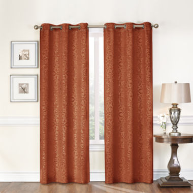 jcpenney.com | Medallion 2-Pack Blackout Grommet-Top Curtain Panels