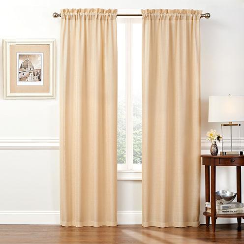 Wellington 2-Pack Rod-Pocket Curtain Panels