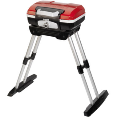 jcpenney.com | Cuisinart® Petit Gourmet™ Portable Gas Grill with Stand CGG-180