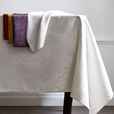 jcpenney.com | JCPenney Home™ Florence Damask Table Linen Collection