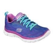 Skechers® Flex Appeal Prancy Dancy Girls Sneakers - Kids