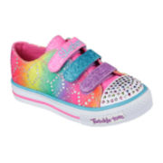 Skechers® Shuffles Rainbow Girls Light-Up Sneakers - Little Kids