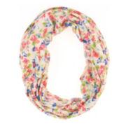 Capelli of New York Floral Multi-Wear Jersey Knit Headwrap