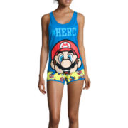 Nintendo® Mario Slouchy Tank Top and Shorts Pajama Set
