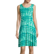 a.n.a® Sleeveless Fit-and-Flare Sundress