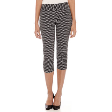 jcpenney.com | Worthington® Wide Waistband Cropped Pants - Tall