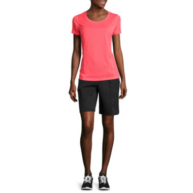 jcpenney.com | Made for Life™ Mesh Tee or Bermuda Shorts