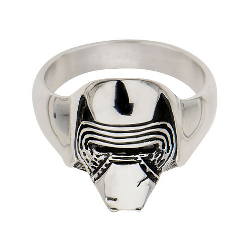 Star Wars® Stainless Steel Episode VII Kylo Ren 3D Ring