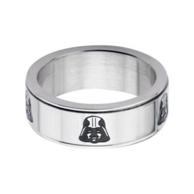 jcpenney.com | Star Wars® Stainless Steel Darth Vader Spinner Ring