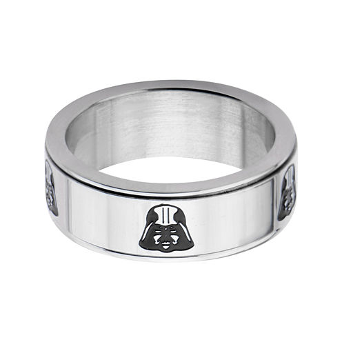 Star Wars® Stainless Steel Darth Vader Spinner Ring