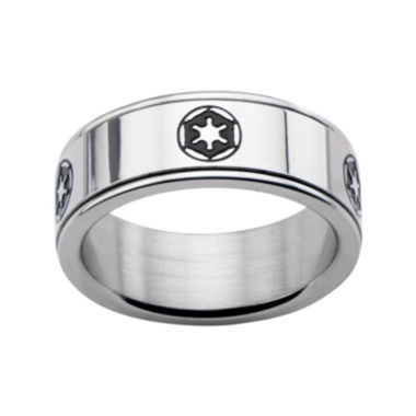 jcpenney.com | Star Wars® Stainless Steel Galactic Empire Symbol Spinner Ring