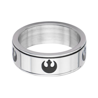 jcpenney.com | Star Wars® Stainless Steel Rebel Alliance Symbol Spinner Ring