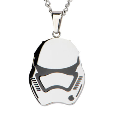 jcpenney.com | Star Wars® Stainless Steel Episode VII Stormtrooper Pendant Necklace