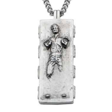 jcpenney.com | Star Wars® Stainless Steel Han Solo Pendant Necklace