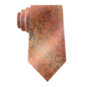 Van Heusen® Botanical Silk Tie - Extra Long