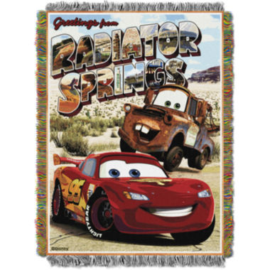 jcpenney.com | Disney Cars Tapestry Throw