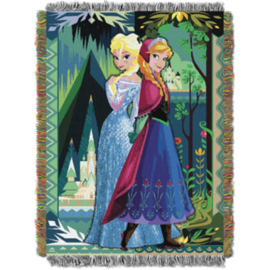jcpenney.com | Disney Frozen Anna and Elsa Tapestry Throw