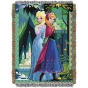 Disney Frozen Anna and Elsa Tapestry Throw