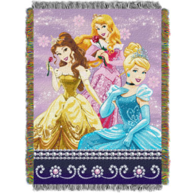 jcpenney.com | Disney Princess Sparkle Dream Tapestry Throw