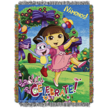 jcpenney.com | Nickelodeon Dora Tapestry Throw