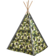 JCPenney Home™ Boys' Camo Teepee Tent