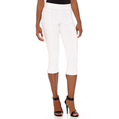 jcpenney.com | Worthington® Flat-Front Cropped Pants - Petite