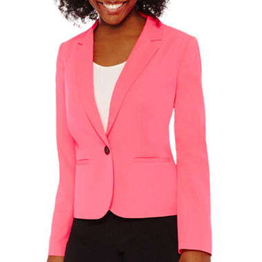 jcpenney.com | Worthington® Essential 1-Button Blazer - Petite