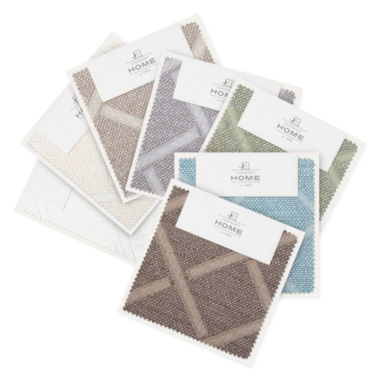 jcpenney.com | JCPenney Home™ Quinn Lattice Swatch Card