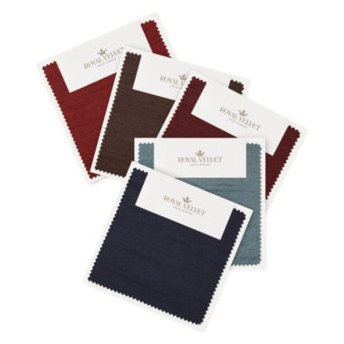 jcpenney.com | Royal Velvet® Britton Swatch Card