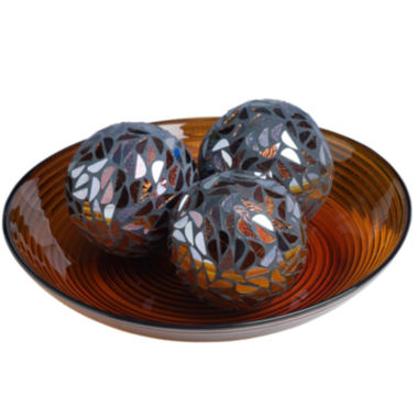 jcpenney.com | 4-pc. Mosaic Orb and Bowl Set