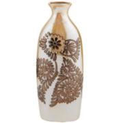 Ceramic Bronze Suzani Vase