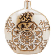 Elements® Suzani Ceramic Decorative Vase