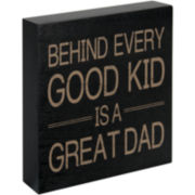 Great Dad Sentiment Plaque