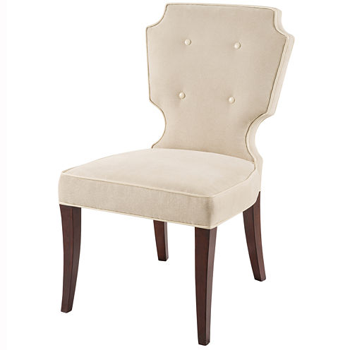 Madison Park Aaliyah Armless Set of 2 Dining ChairSet