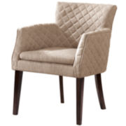 Alexis Quilted-Back Dining Chair