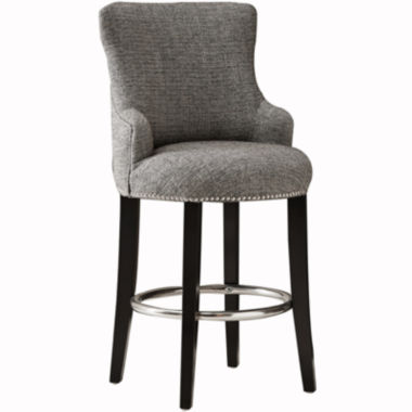 jcpenney.com | Vanessa Swivel Barstool with Back