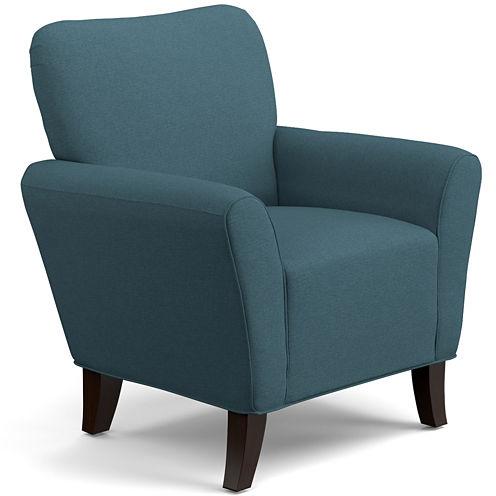 June Caribbean Blue Accent Chair