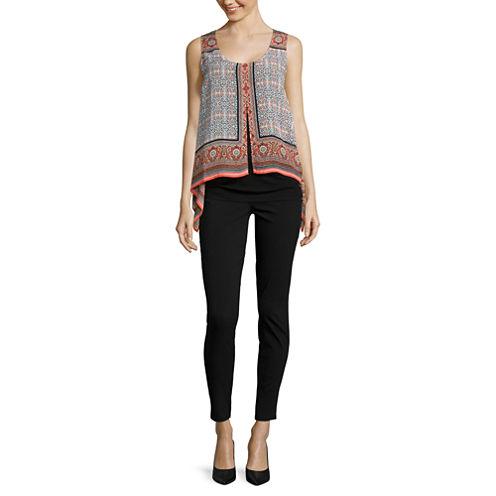 Alyx® Sleeveless Layered Scarf Top or Slim-Leg Millennium Pants