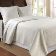 Greenland Home Fashions Vashon Diamond Quilt Set